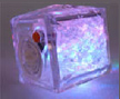 GAIC7 – Flashing Plastic Ice Cube